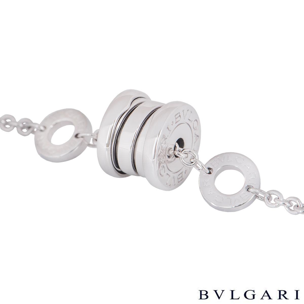 Bvlgari White Gold B.zero1 Bracelet BR853720